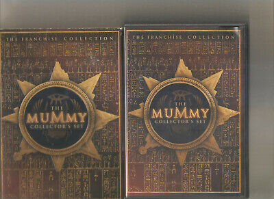 The Mummy Collectors Set (DVD, 2005, 3-Disc Set) Free Ship