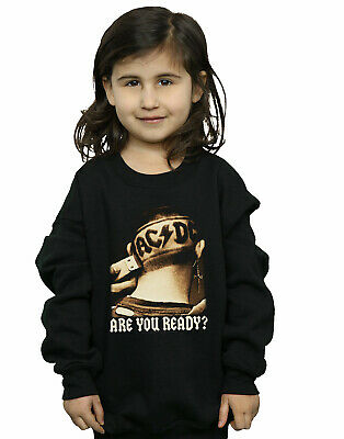 AC/DC Girls Are You Ready Hair Shave Sweatshirt