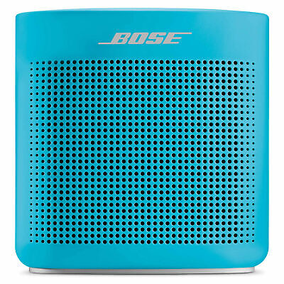 Bose Soundlink Color Ii Bluetooth Wireless Speaker Aquatic Blue 1-Year Warranty