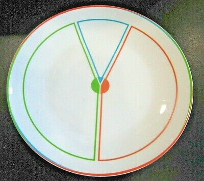 Portion Control Healthy Eating Slimming Diet 4 PLATES Fine China MINT
