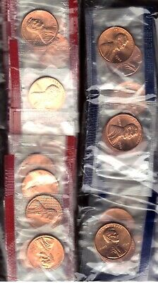 1984-P & D Uncirculated Lincoln Memorial Cent / Penny In Mint Cello (2 Coins)