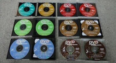 Pioneer Navigation DVDs 110MT EU, and other years. Original and New.