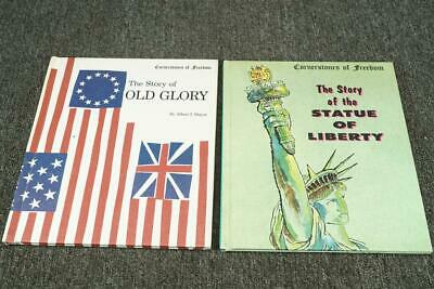 Cornerstones Of Freeman Story Of Old Glory & The Statue Of Liberty Hardcover