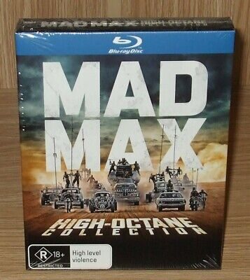 Mad Max High-Octane Collection Blu-ray 7-Disc Box Set Brand New & Sealed