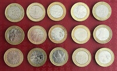 Cheapest £2 Rare Coins COMMONWEALTH OLYMPIC MARY ROSE KING JAMES BIBLE