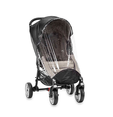 Baby Jogger City Mini 4-Wheel Stroller Single Rain & Wind Canopy