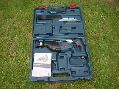 BOSCH 36v reciprocating saw new with case