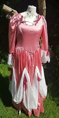 Pantomime Dame Dress For Finale Or Ballroom Fits Up To 46 Inch Chest