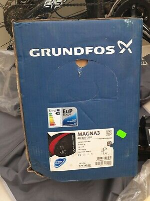 Grundfos Magna3 40-80 F N (220) Variable Speed Hot Water Circulator Pump #155/3