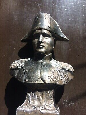 Cast Metal Bust Of Napolean