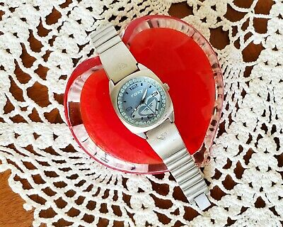 Girls Small ROXY Watch - Vintage Early 2000s Stainless Steel Water Resistant