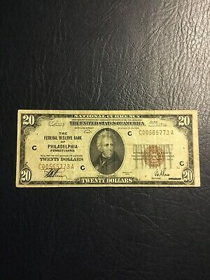 US Paper Currency-National Currency Note