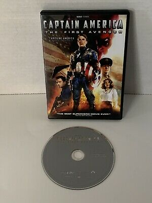 Captain America: The First Avenger DVD 2011 Canadian
