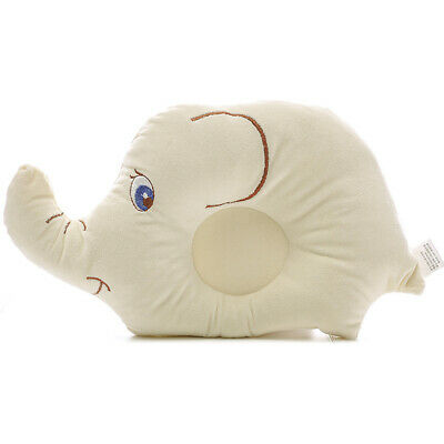 Cute Baby Newborn Soft Shaping Pillow Protective Elephant Sleeping Head Pillow
