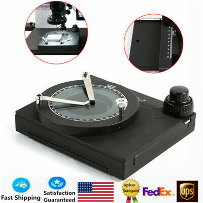 Microscope Mechanical XY Axis Precision Fine-tuning Work Stage Gliding Stage HOT
