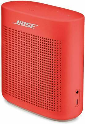 Bose Soundlink Color Ii 2 Portable Speaker Coral Red Bluetooth 1-Year Warranty