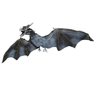 Animated Realistic Dragon Halloween Prop Decoration