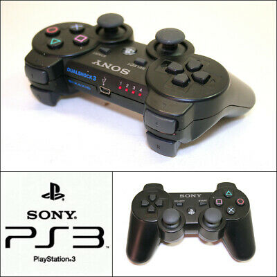Genuine Sony PlayStation 3 PS3 Wireless DualShock 3 Controller (CECHZC2E)