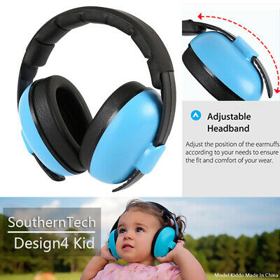 Kid Folding Ear Defender Noise Reduction Protector Earmuff Children Baby Protect