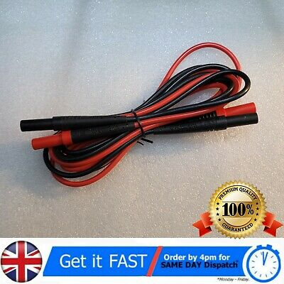 Fluke TL221 Suregrip+ Silicone Test Leads