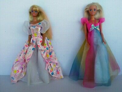 A Beautiful Vintage Birthday Barbie Doll Lot/WOW...In great pre-owned condition!