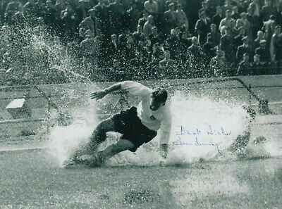 "Sir Tom Finney England Preston Signed Autograph PRINT 6x4"" GIFT"