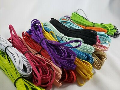 "skinny elastic 1/8""  SKINNY elastic by the yard (100 yards)(20 colors)grab bag"