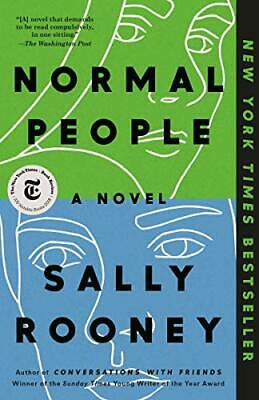 Normal People: A Novel by Sally Rooney Paperback - February 18, 2020 BRAND NEW