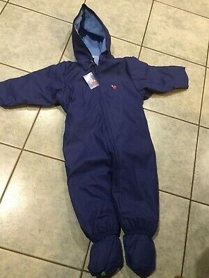 MUDDY PUDDLES PUDDLEFLEX SUPER WARM WATERPROOF ALL IN ONE SNOWSUIT 6-12 MTH