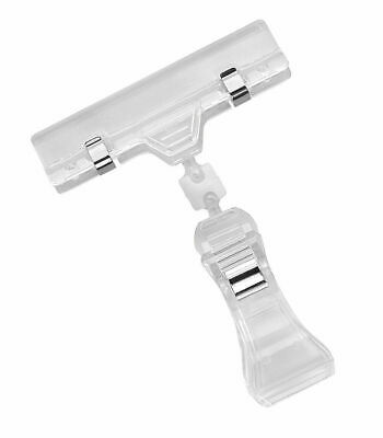 Acrylic Sign Clip Sign Sign Holder Clamp Pinch Swivel Pack of 10