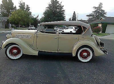 1935 Ford Other Red 1935 Ford Phaeton Convertible! Flathead V-8! Restored! Awesome!
