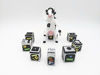 Cow Parade Westland #47748 Vaca DJ With Original Box And Tags 2007 Danilo Boer