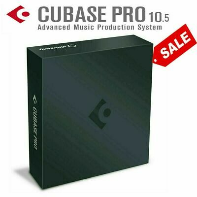 Cubase Pro 10.5 🔥 Fast eDelivey ✅ Windows 64 bit 🔥 works perfectly music maker