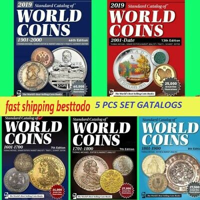 Digital Book 2019 Standard Catalog Of World Coins 2001 To Date 13th Ed Krause 5 98 Picclick