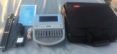 Stenograph Elan Mira A3 court reporting writer w/accessories.. Excellent cond.