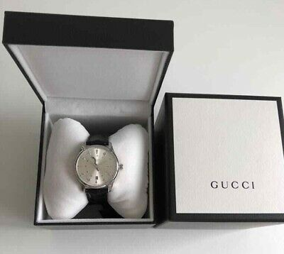 Gucci Gents G-Timeless Automatic GMT S/Steel Silver Snake Dial Watch YA126332