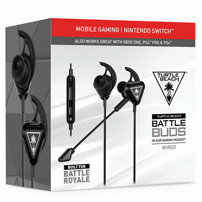 Turtle Beach Battle Buds Cuffie Gaming Ps4 Xbox One Nintendo Switch Pc Headset