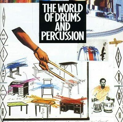 Various -  The World Of Drums And Percussion. CD