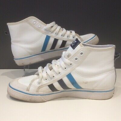 Authentic ADIDAS Nizza Ladies Girls Boys UK 5.5 High Top Trainers