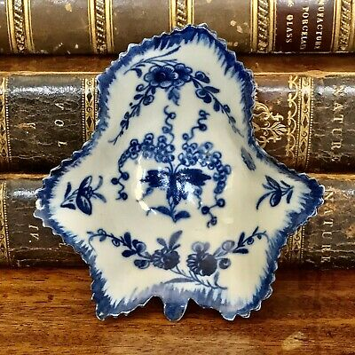 18th century Worcester (Dr Wall/1st period) porcelain Pickle dish, c.1765