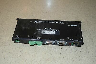 Campbell Scientific Nl100 Network Link Interface (Mq8)