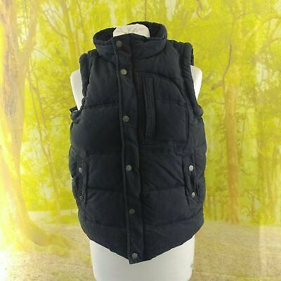 """Fat Face Navy Blue Gilet. 19"""" pit-to-pit, 25"""" length, Age 12"""