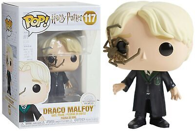 Harry Potter - Pop! - Draco Malfoy with Whip Spider n°117 - Funko