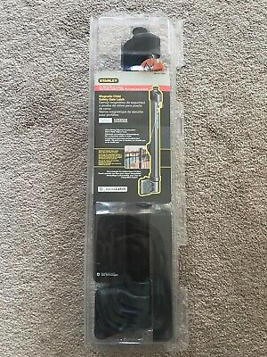 "Stanley S836-205 CD6207 Magnetic Latch Top Pull in Black, Gates 48""&Taller"
