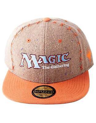 Magic The Gathering Baseball Cap 7 Panel Core Logo Official Black Snapback