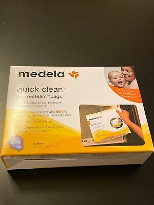 Medela Quick Clean Micro-Steam Bags, 5 Count 87024