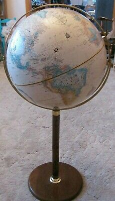 "Vintage Replogle WORLD CLASSIC SERIES 16"" Diameter Globe on Stand EXCELLENT COND"