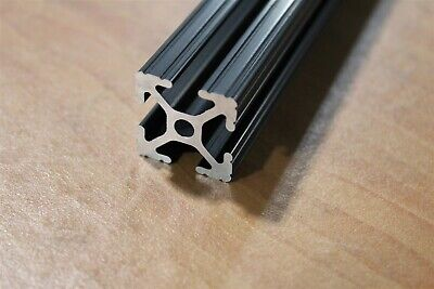 "8020 Inc 1 x 1 T Slot Aluminum Extrusion 10 Series 1010 x 32.75"" SC Black A4-06"