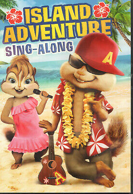 Alvin and the Chipmunks - Island Adventure Sing Along (DVD) **Disc Only**