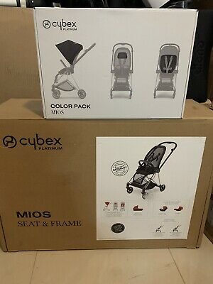 Cybex Platinum Mios Chrome, With Stardust (black)  Color Pack